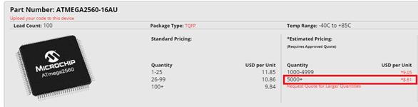 precio atmega2560
